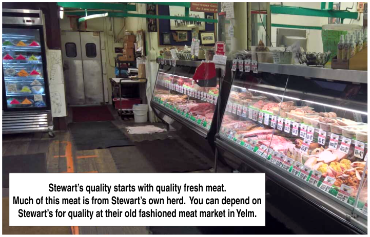 Fresh Meats at Stewart's in Yelm